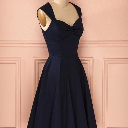 Homecoming Dresses,Sexy Short Navy ..