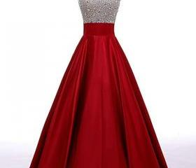 Beading A-line Prom ..