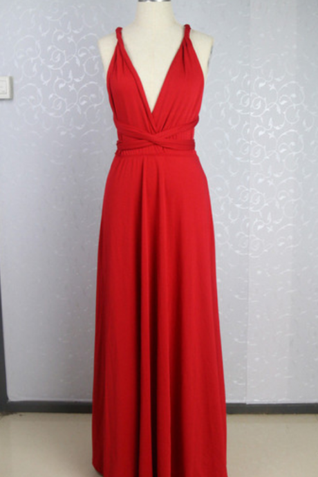 Red Prom Dresses,Chiffon Evening Dress,Chiffon Prom Dress,Backless Prom Dresses,Charming Prom Gown,Cheap Prom Dress,Open Back Evening Gowns for Teens