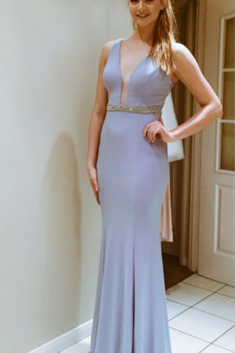Backless Prom Dresses,Open Back Prom Dress,Light Blue Prom Gown,Sparkly Prom Gowns,Elegant Evening Dress,Sparkle Evening Gowns,Mermaid Evening Gowns,Sexy Prom Dress,2016 Party Dress For Teens