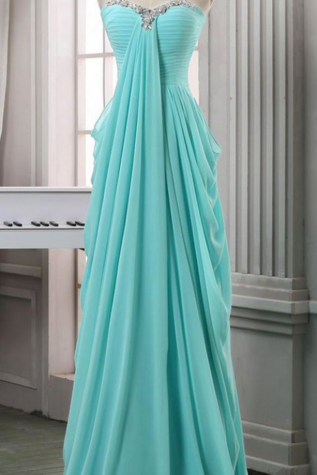 Long Prom Dresses,A line Prom Dress,Blue Prom Dresses,Formal Evening Dress,Long Homecoming Dress,Simple Evening Gowns