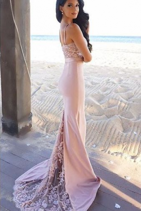 Mermaid Prom Dresses,Long Prom Dress,Formal Evening Dress,Backless Evening Dress