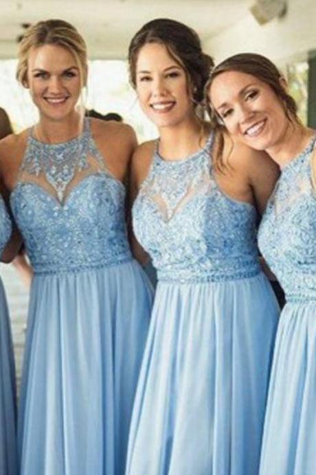 Mismatched Elegant Mermaid Affordable Long Wedding Bridesmaid Dresses