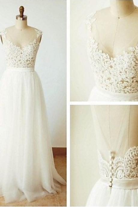 White Wedding Dresses,Sexy Wedding Dresses,Wedding Dresses