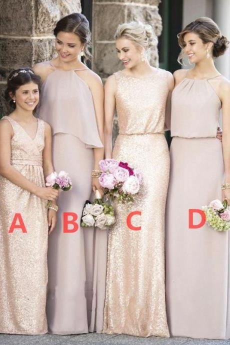 Sequined Bridesmaid Dresses, Simple Bridesmaid Dresses ,New Arrival Bridesmaid Dresses ,Hote sale Most Popular Bridesmaid Dresses , Wedding Guest Dresses , Bridesmaid Dresses