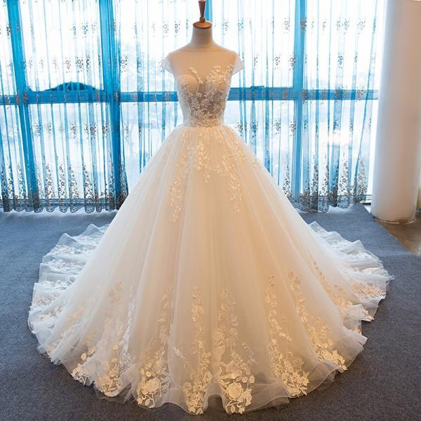 Sexy robe de mariage Vintage Lace Wedding Dress for Pregnant